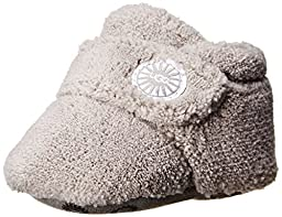 UGG Unisex Bixbee Bootie (Infant/Toddler), Charcoal, 0-6 Months M US Infant