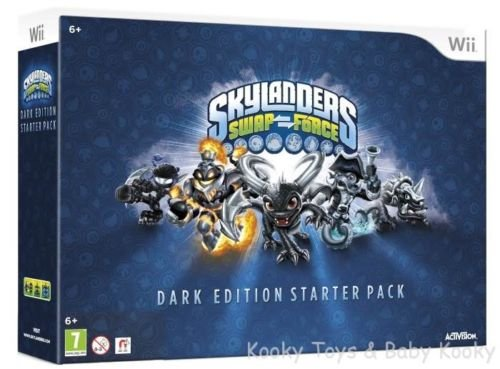 Skylanders Swap Force Starter Pack - Dark Edition