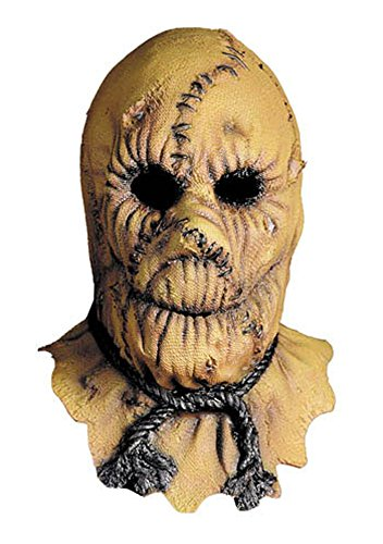 Scarecrow Mask Halloween Costume - Most Adults