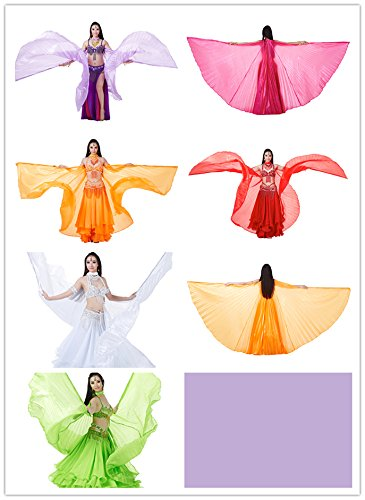 Dance Fairy elegant light Belly Dance Simulated Silk Isis Wings