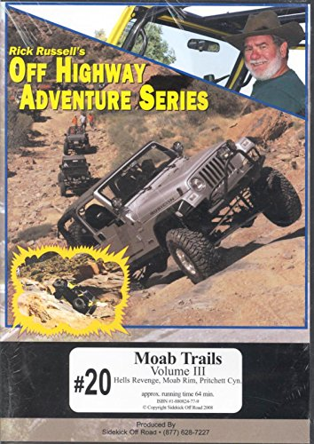 #20 Moab Trails Volume III by Rick Russell's Off Highway Adventure Series Hells Revenge, Moab Rim, Pritchett Cyn. (Revenge Season 3 compare prices)