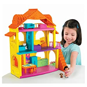 Fisher-Price Dora's Explore and Play Dollhouse