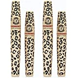 2 Sets (4 tubes) Love Alpha LA729 English Version (Gel & Fiber) Mascara Set - Brush on False Eyelashes