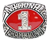 Oklahoma Sooners 1985 National Championship Ring Replica Size 12
