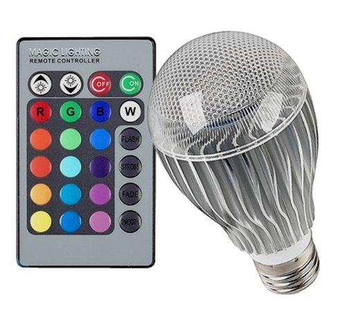 Wandafull 5W Led Light E27 With Remote Control Color Changing Light Bulb With Remote 16 Color Energy Saving