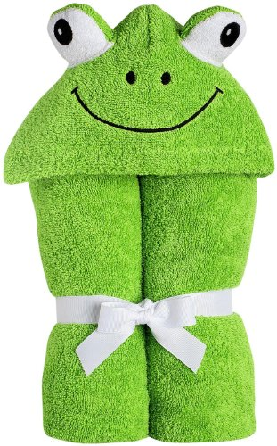 Yikes Twins Infant Hooded Towel - Green