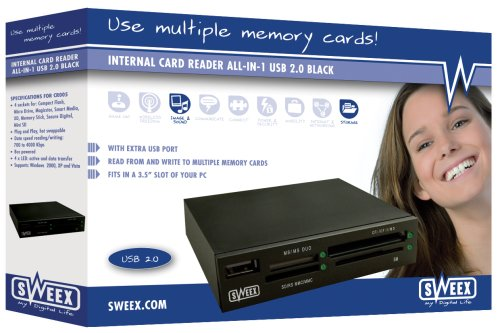 Sweex CR005V3-OEM All-in-1 Internal Card Reader. OEM