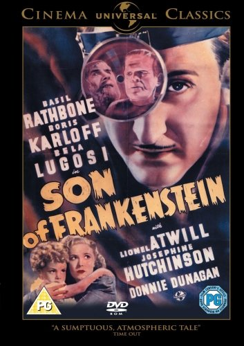 Son of Frankenstein [DVD] [1939]