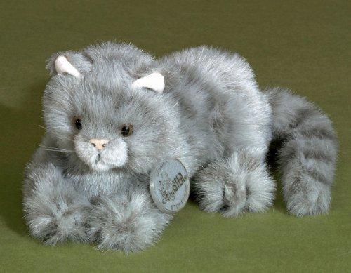 Förster Stofftiere 3668 Katze liegend grau mini