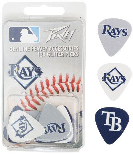 Tampa Bay Rays Mlb Guitar Pick Pack By Peavey