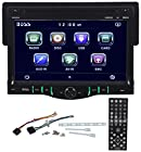 Boss BV8968 Single Din 7 Drop Down Car Monitor DVD/AM/FM/USB/SD iPhone Ready Player Receiver With Wireless Remote