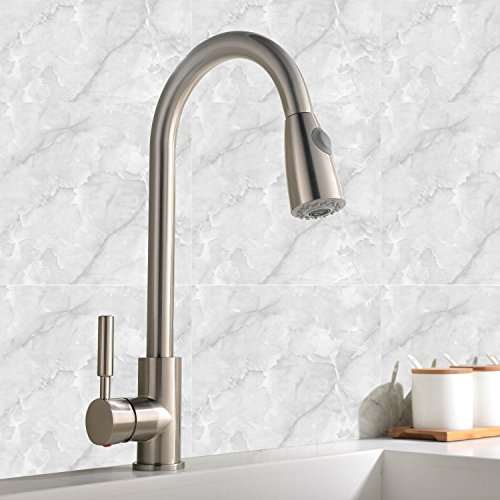 best commercial stainless steel single handle pull down best pullout spray cold and hot water kitchen faucet