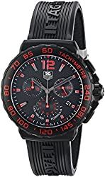 TAG Heuer Men's CAU111D.FT6024 Formula 1 Analog Display Quartz Black Watch