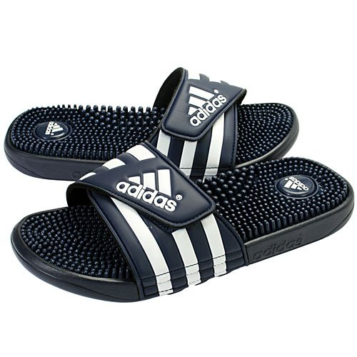 Adidas Originals Men'S Adissage Sandal,New Navy/New Navy/Running White,10 M front-759894