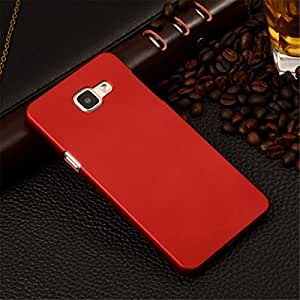 Case Creation TM Samsung Galaxy J5 Prime / J5 Prime Dual Sim / SamsungJ5Prime SM-G570F Matte finish Back case cover Guard Color - MAROON WINE RED