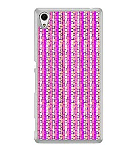 Colourful Pattern 2D Hard Polycarbonate Designer Back Case Cover for Sony Xperia Z4