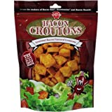 J & Ds Crouton, Bacon Flavored 4.5 OZ (Pack of 4)