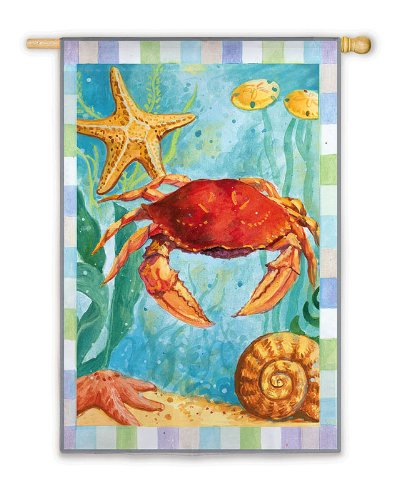 Undersea Crab Flag (Regular Size)