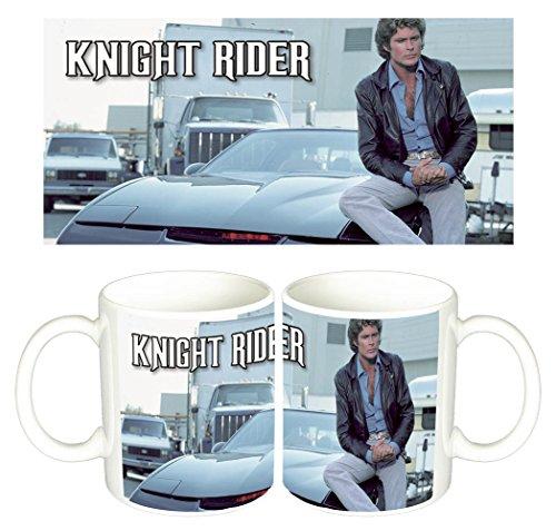 El Coche Fantastico Knight Rider David Hasselhoff B Tazza Mug