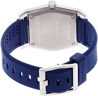 LOCMAN watch stealth Taki metric quartz Men's 0208 020800BBLWHYSIB Men