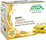 SSCPL Herbals Turmeric & Shea Butter, Combo pack of 4 soaps, 400gms
