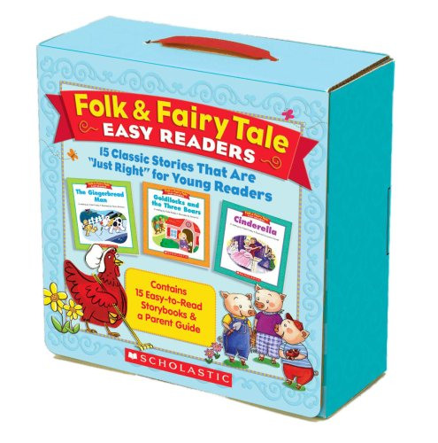 Folk & Fairy Tale Easy Readers: 15 Classic Stories That Are