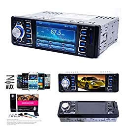 Qisc In Dash Car MP5 Player USB/TF MP3 Stereo Audio Receiver Bluetooth FM Radio