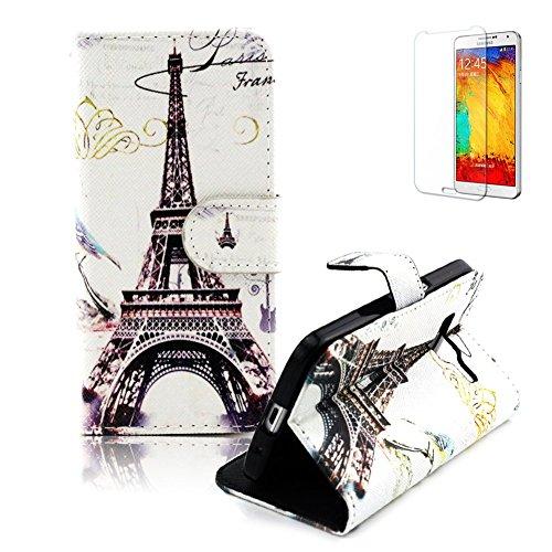 Portable Coque Etui pour Samsung Galaxy Core Prime SM-G360,Funyye Coque de Protection en Cuir Folio Housse Leather Case Wallet Flip Protective Cover