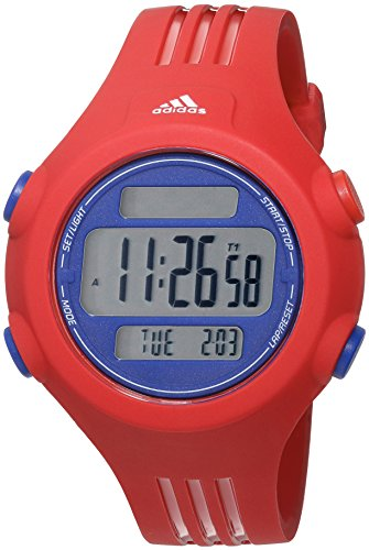 adidas Men's 'Questra' Quartz Plastic and Polyurethane Casual Watch, Color:Red (Model: ADP3272) - 51AS irCmwL - adidas Men's 'Questra' Quartz Plastic and Polyurethane Casual Watch, Color:Red (Model: ADP3272)