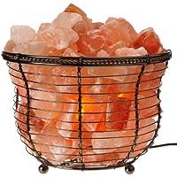 WBM Himalayan Glow 1301B Natural Air Purifying Himalayan Salt Lamp