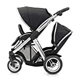 BabyStyle - Oyster MAX2 - Black - Including Second Seat and Carrycot