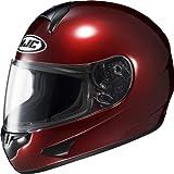 HJC Helmets CL-16 Helmet (Wine, Large)