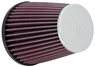 K&N RC-9240 High Performance Universal Clamp-on Chrome Air Filter