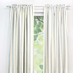 Chooty rod pocket curtain panel 54 by 108 for 108 window treatments