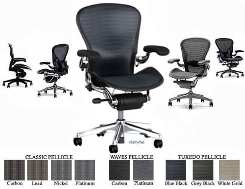 Admirable Sale Herman Miller Aluminum Aeron Executive Chair Highly Ncnpc Chair Design For Home Ncnpcorg