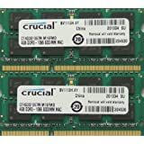 Ram memory 8GB kit, (2 x 4GB), DDR3 PC3-8500, 1067MHz, 204 PIN SODIMM for late 2008/2009 and Mid 2010 Macbooks