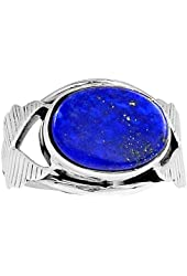 Xtremegems Lapis 925 Sterling Silver Ring Jewelry Size 8 1694R