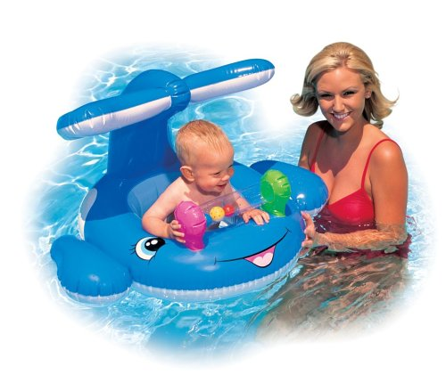 Infant Little Whale Inner Tube Baby Float for Swimming Pools