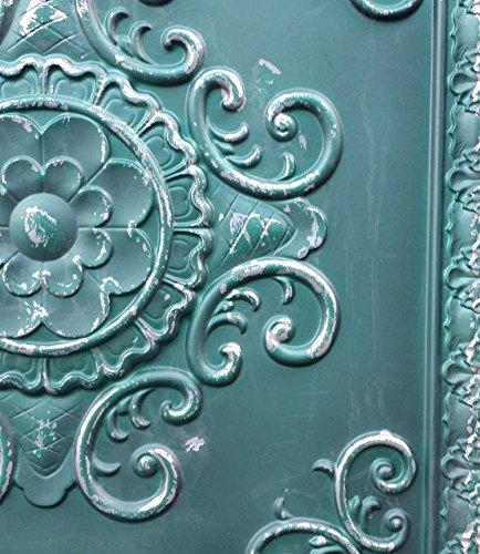 PL08peint imitation Vieux plafond Panneaux muraux décoration carrelage 3D pour estamper Café Pub Shop Art 10pieces/Lot
