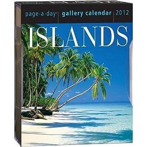 Islands 2012 Gallery Desk Calendar