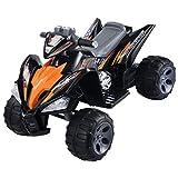 Giantex Kids Ride On ATV Quad 4 Wheeler Electric Toy Car 12V Battery Power Black (Color: Black)