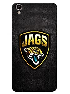 Omnam Jags With Tiger Printed Designer Back Cover Case For Oppo F1 Plus