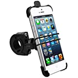 mumbi Fahrradhalterung iPhone 5 TwoSave (doppelt gesichert) fr Motorrad und Fahrrad Halterungvon &#34;mumbi&#34;