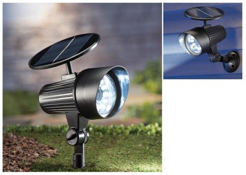 Solar Motion Sensor Adjustable Security Spotlight