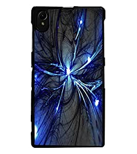 ColourCraft Abstract Image Design Back Case Cover for SONY XPERIA Z1