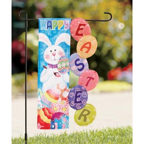 Easter Garden Decor - Easter Flag