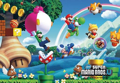 Picturesque brain puzzle step Step 3 series 85-piece New Super Mario Bros. U 26-617 (japan import)