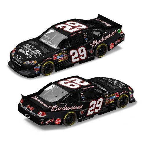 Action 1/24 Kevin Harvick #29 Budweiser Military Tribute 2011 Chevy Impala