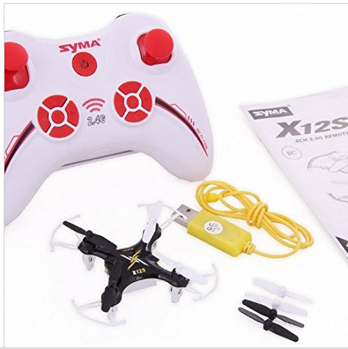 New SYMA X12S Nano Micro Helicopter Headless 6-Axis Mini RC Quadcopter Quad Drone RTF