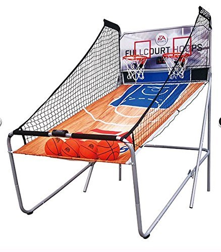 Lowest Prices! EA Sports 4-Player LED Electronic Arcade Size Fullcourt Hoops Basketball Game